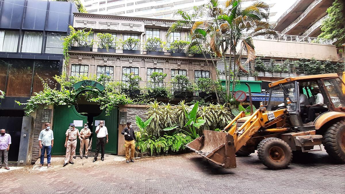 Kangana Ranaut moves to Bombay HC as BMC demolishes Bandra property