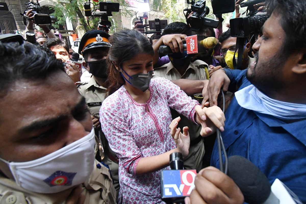 Rhea Chakraborty interrogated for over five hours by NCB; summoned again on Monday: Live Updates