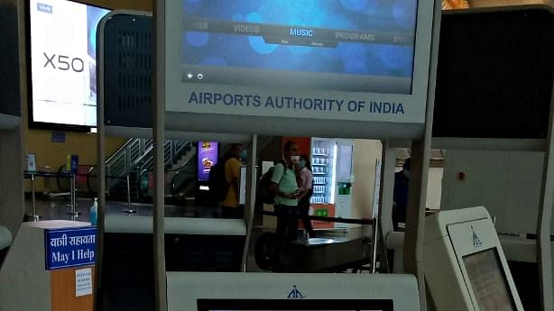 Indore: Touch-free boarding pass at airport