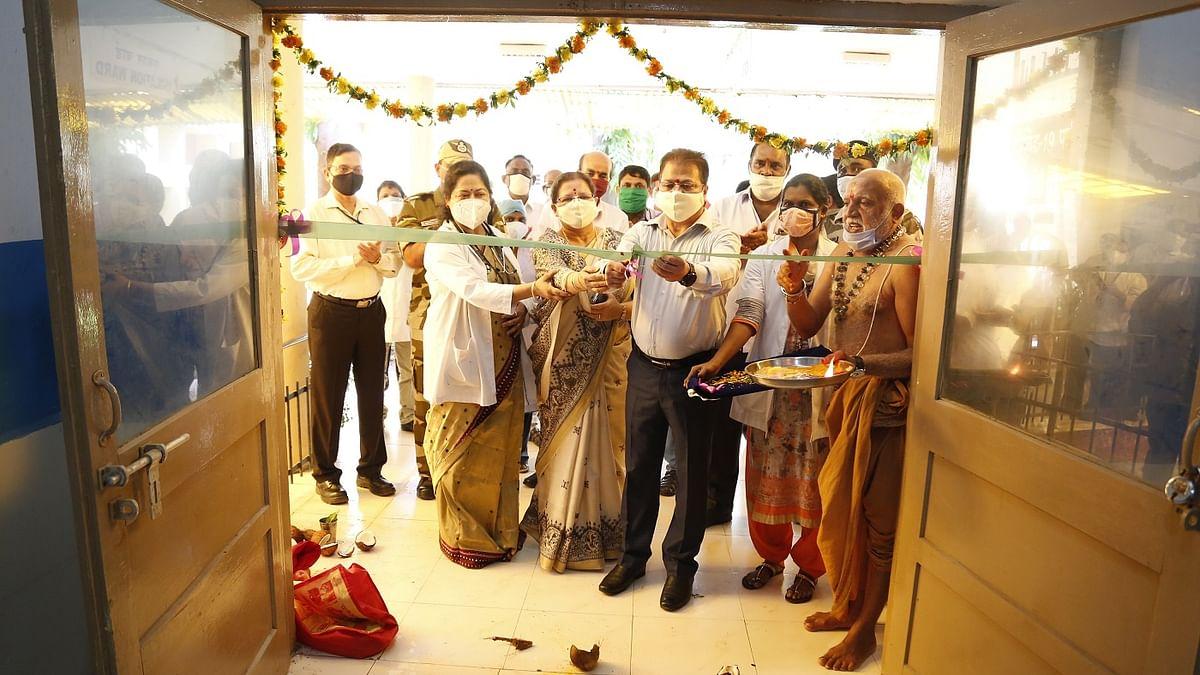 Covid Care Center inaugurated at NTPC-Ramagundam
