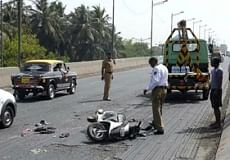 Biker killed in collision with drunk man's car in Thane