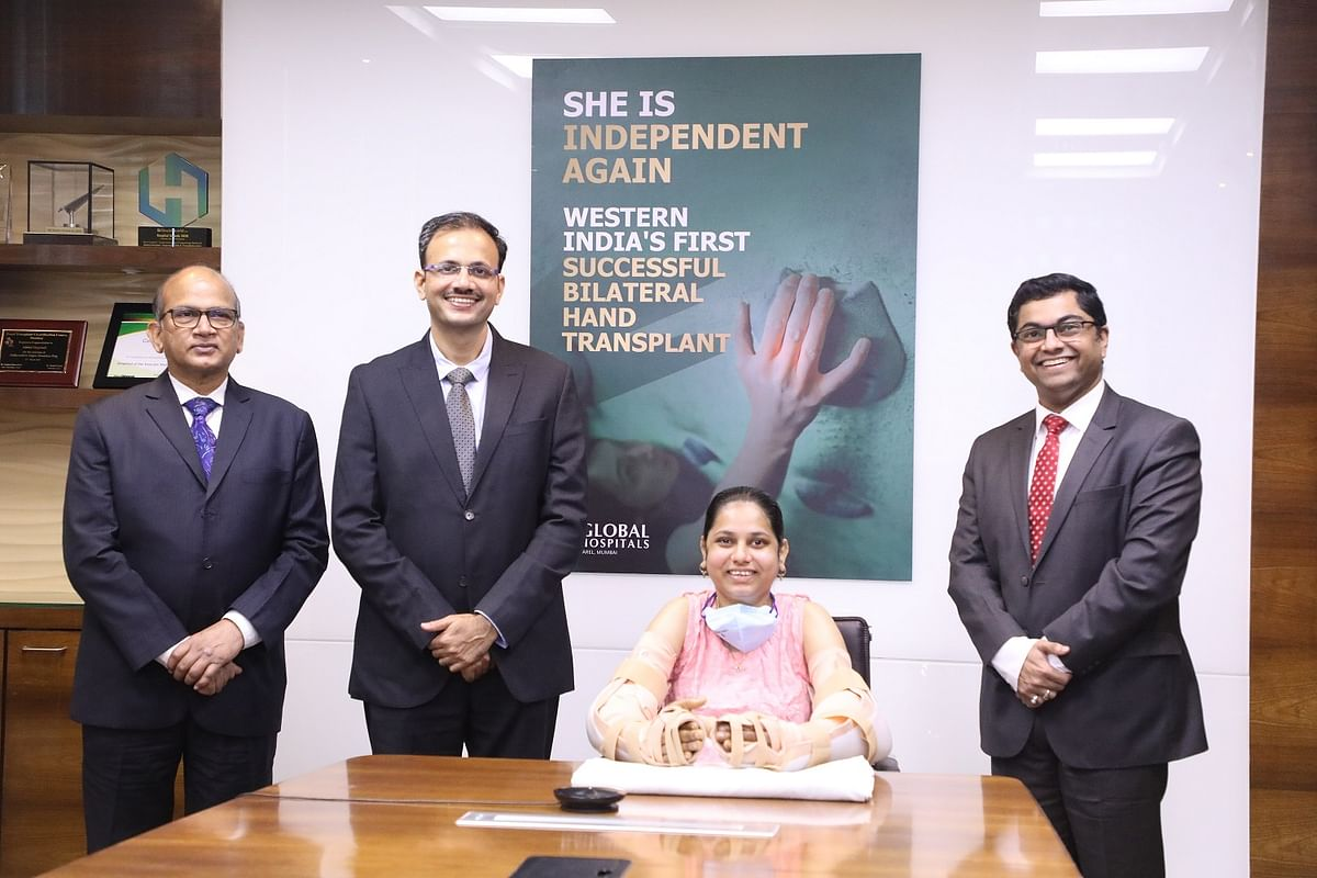 Train accident survivor Monika More undergoes bilateral hand transplant at Global Hospitals