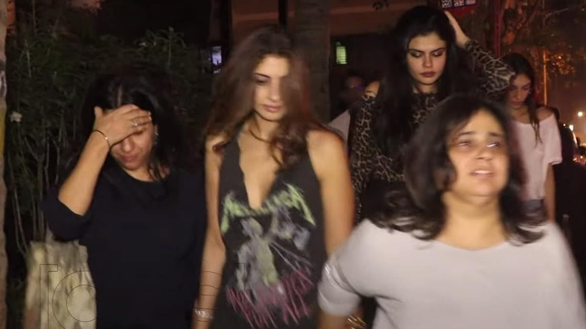 Watch: Shweta Bachchan's 'highly drunk' video goes viral after mom Jaya's 'gutter' comment