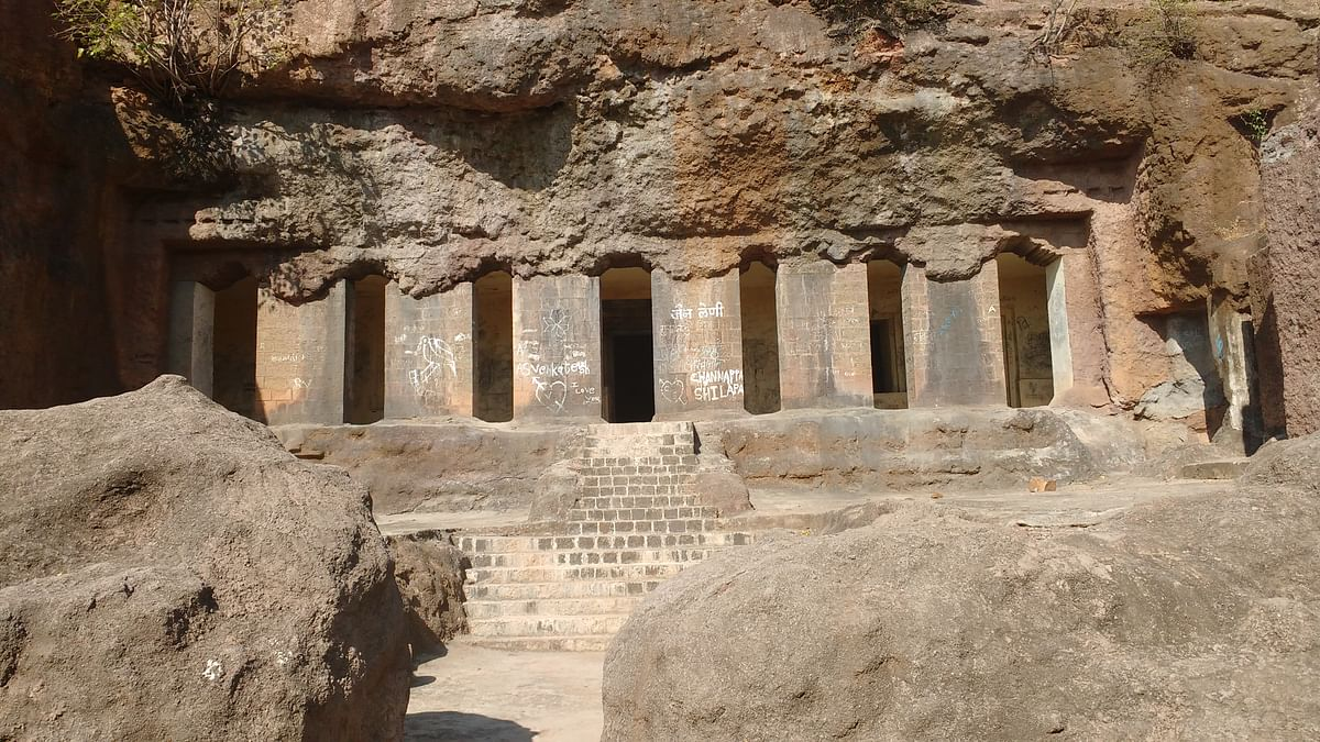 Aurangabad: Archaeology department takes up restoration of Dharashiv cave in Osmanabad district