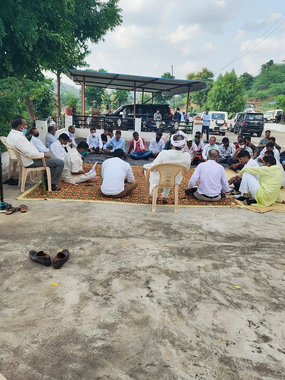 Peace committees have been formed by the administration to speak to the protesters but there has been no progress in getting them to discontinue the protests.