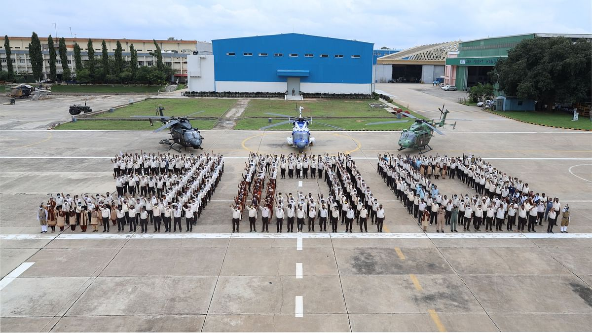 HAL rolls out 300th Advanced Light Helicopter - Dhruv