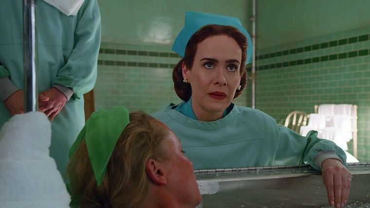 Ratched: Sarah Paulson puts all her passion into the role, but unfortunately the story fails her