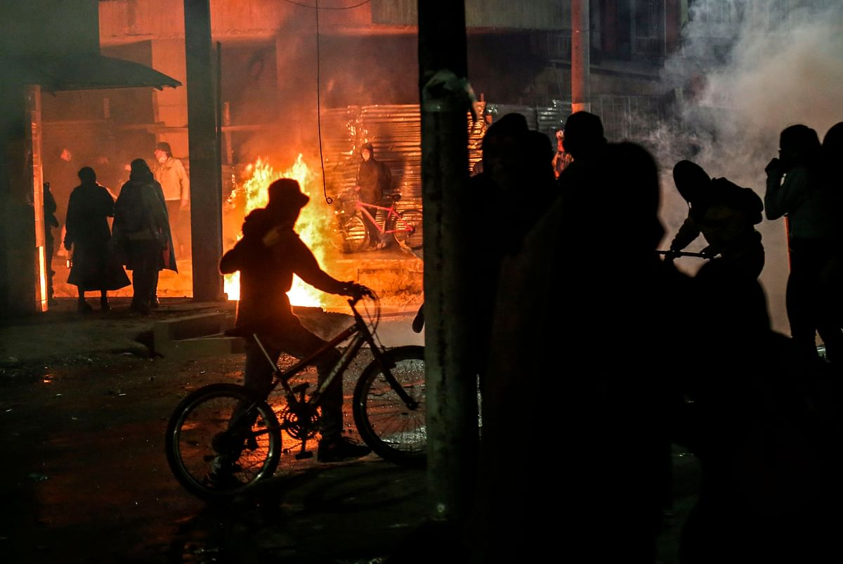 Five killed as protests erupt in Colombia over man's death in police custody