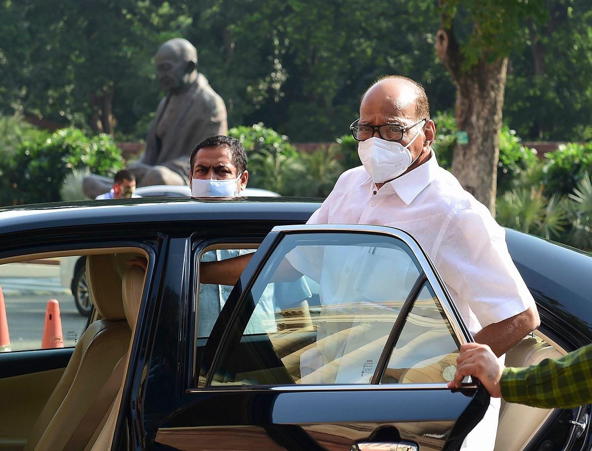 Sharad Pawar raises Army's Ahmednagar firing range issue with Rajnath Singh