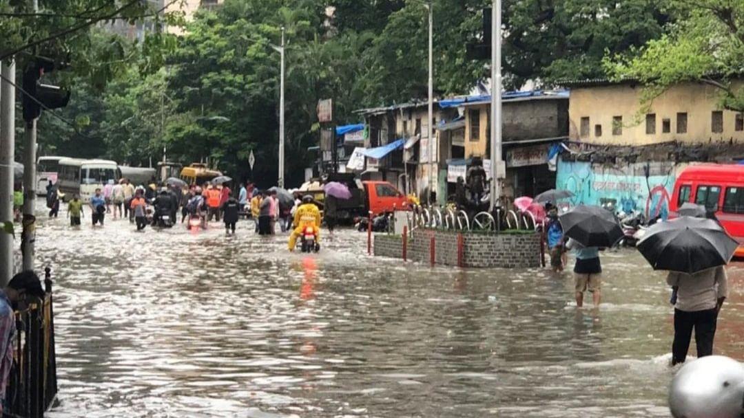 Mumbai Rains: Waterlogging causes major traffic snarls, diversions in city