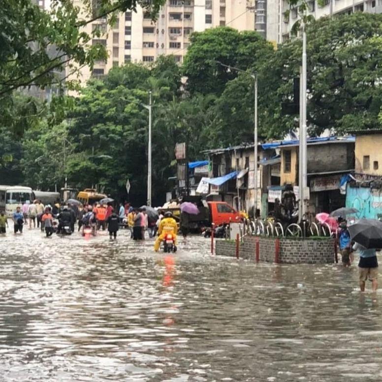 Mumbai Rains: Waterlogging causes major traffic snarls, diversions in city