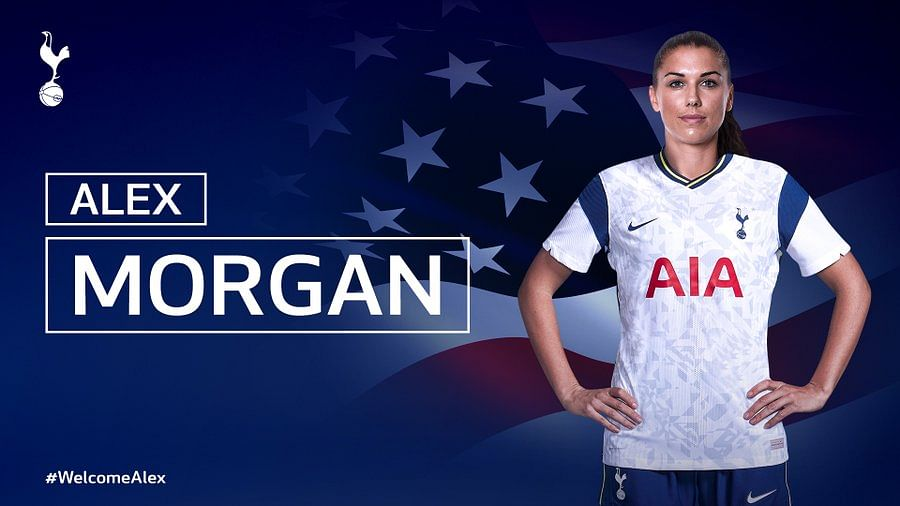 Tottenham Hotspur Women sign USA striker Alex Morgan