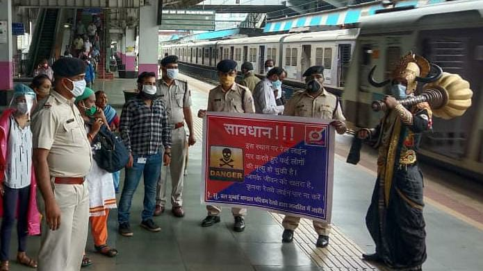 Western Railway's Railway Protection Force conducts Yamraj campaign for awareness against trespassing