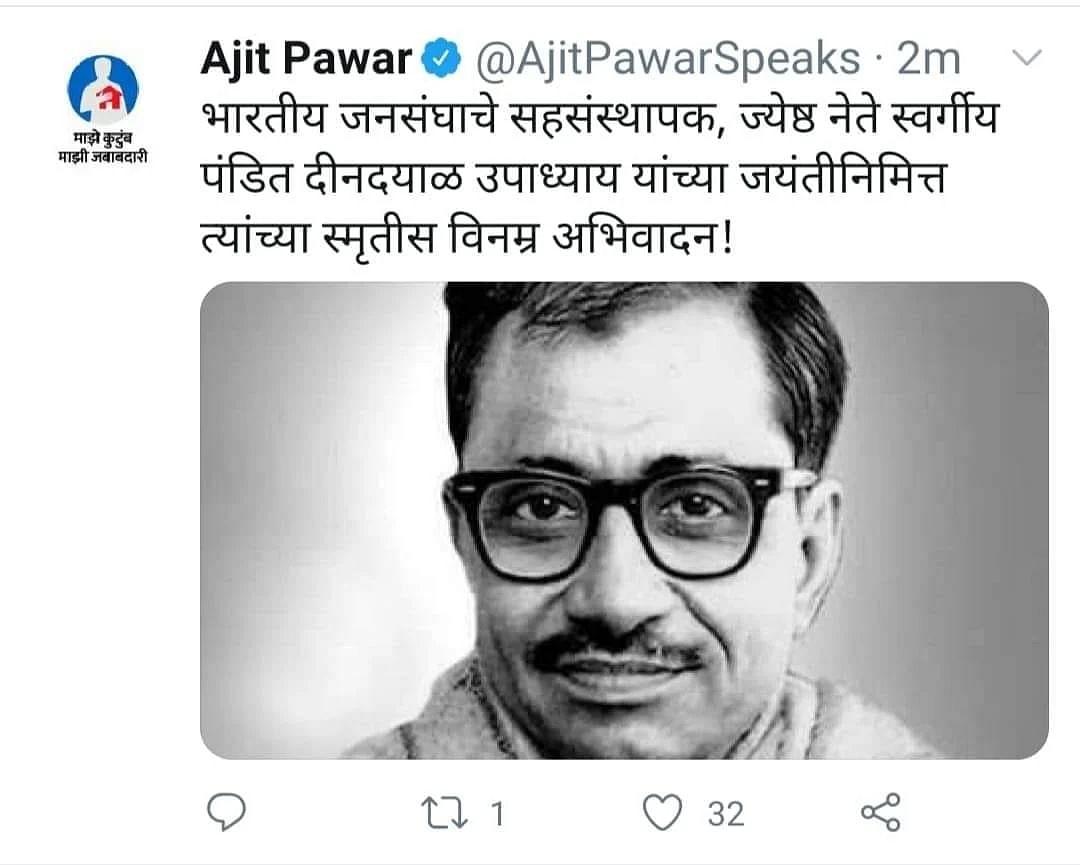 Pawar-full words raise a Twitter storm again