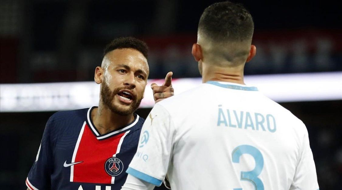 Acted like fool to earn red card against Marseille: Neymar after accusing Alvaro Gonzalez of racism