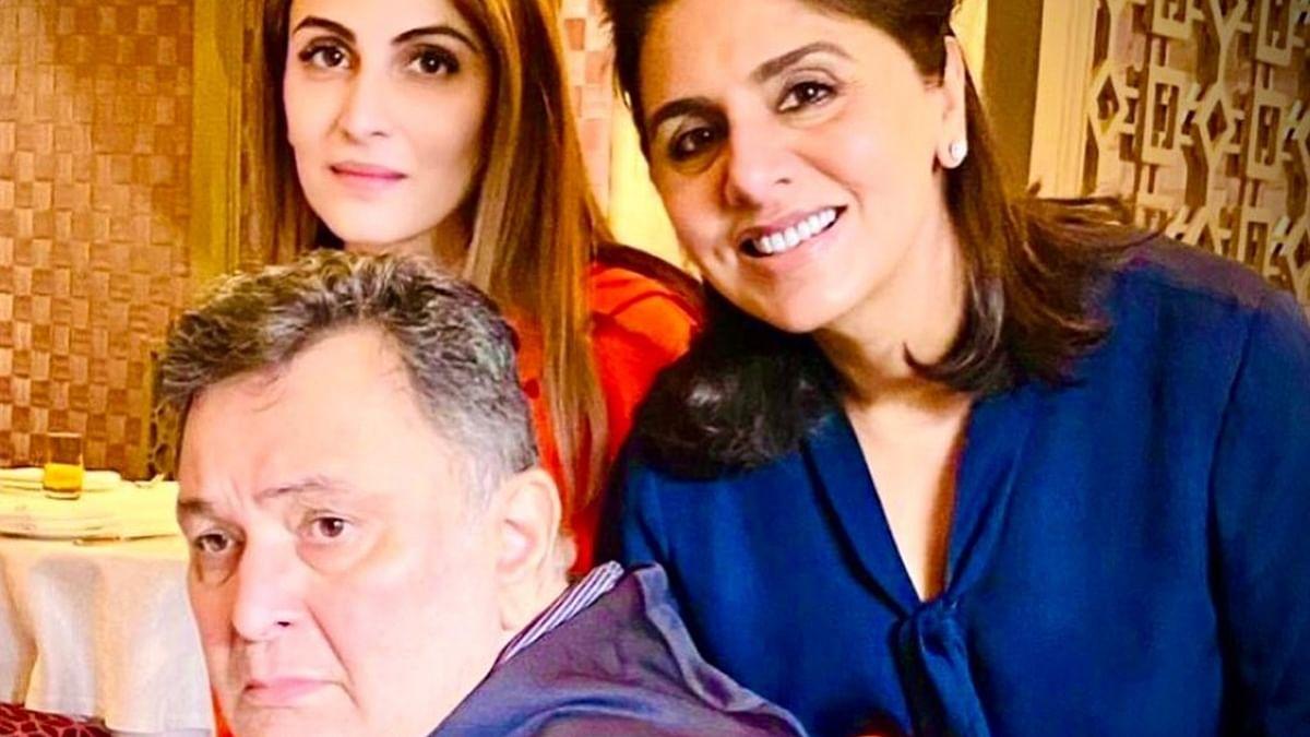 Riddhima Kapoor Sahani pens down a heartfelt post on Rishi Kapoor's 68th birth anniversary