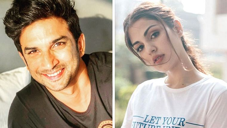 Doobie received? News channel shares video of Rhea Chakraborty and Sushant allegedly smoking weed