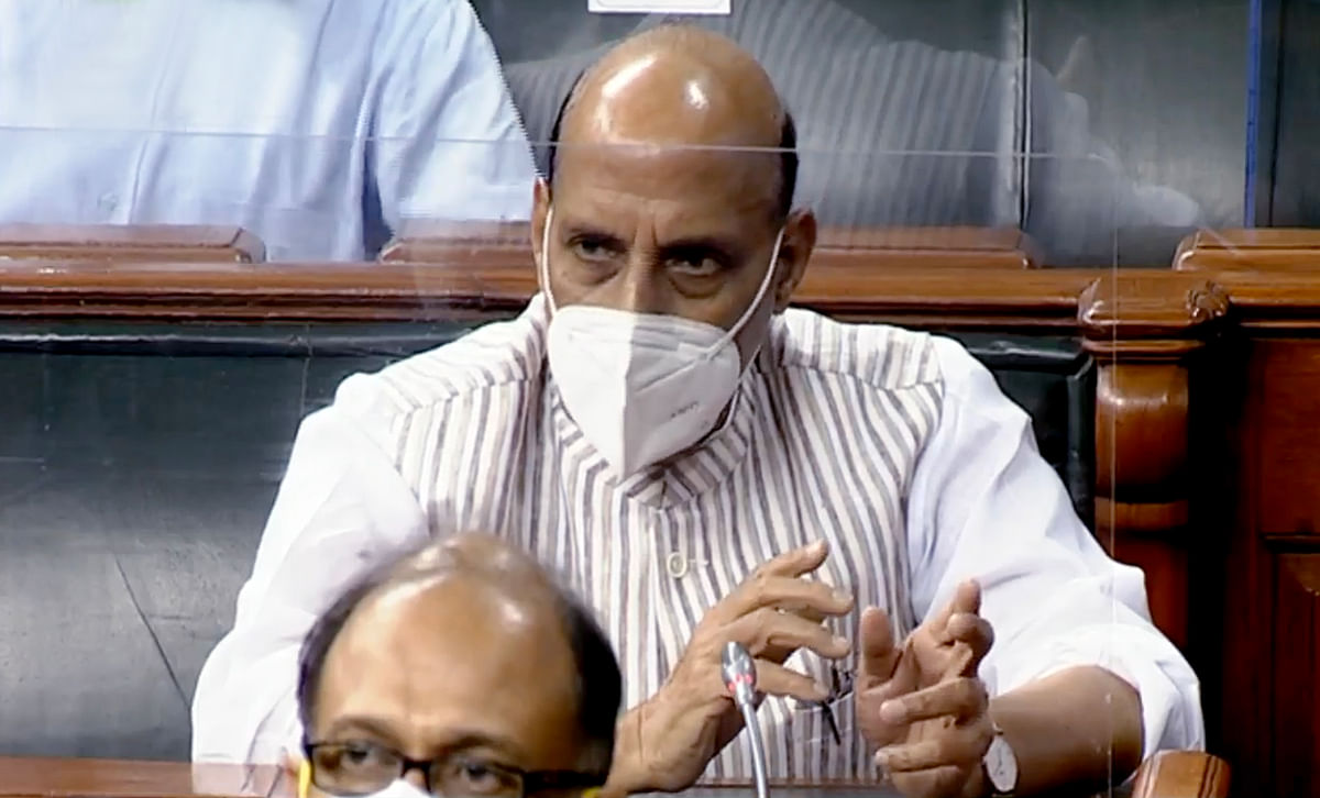 'Saddening, unfortunate and shameful': Rajnath Singh slams opposition for ruckus in Rajya Sabha