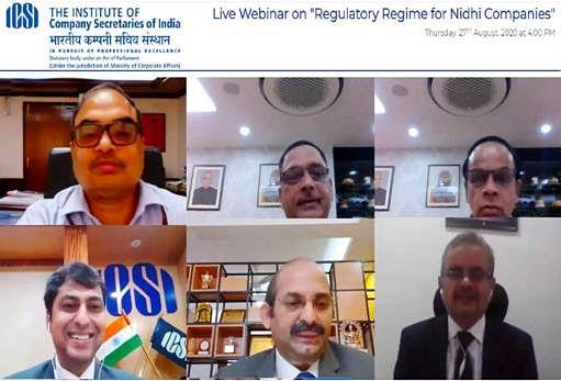 ICSI discusses the fundamentals of the legal framework governing Nidhi Cos