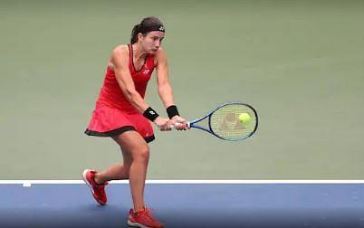 Anastasija Sevastova knocked off 16-year-old Gauff in three sets, 6-3, 5-7, 6-4