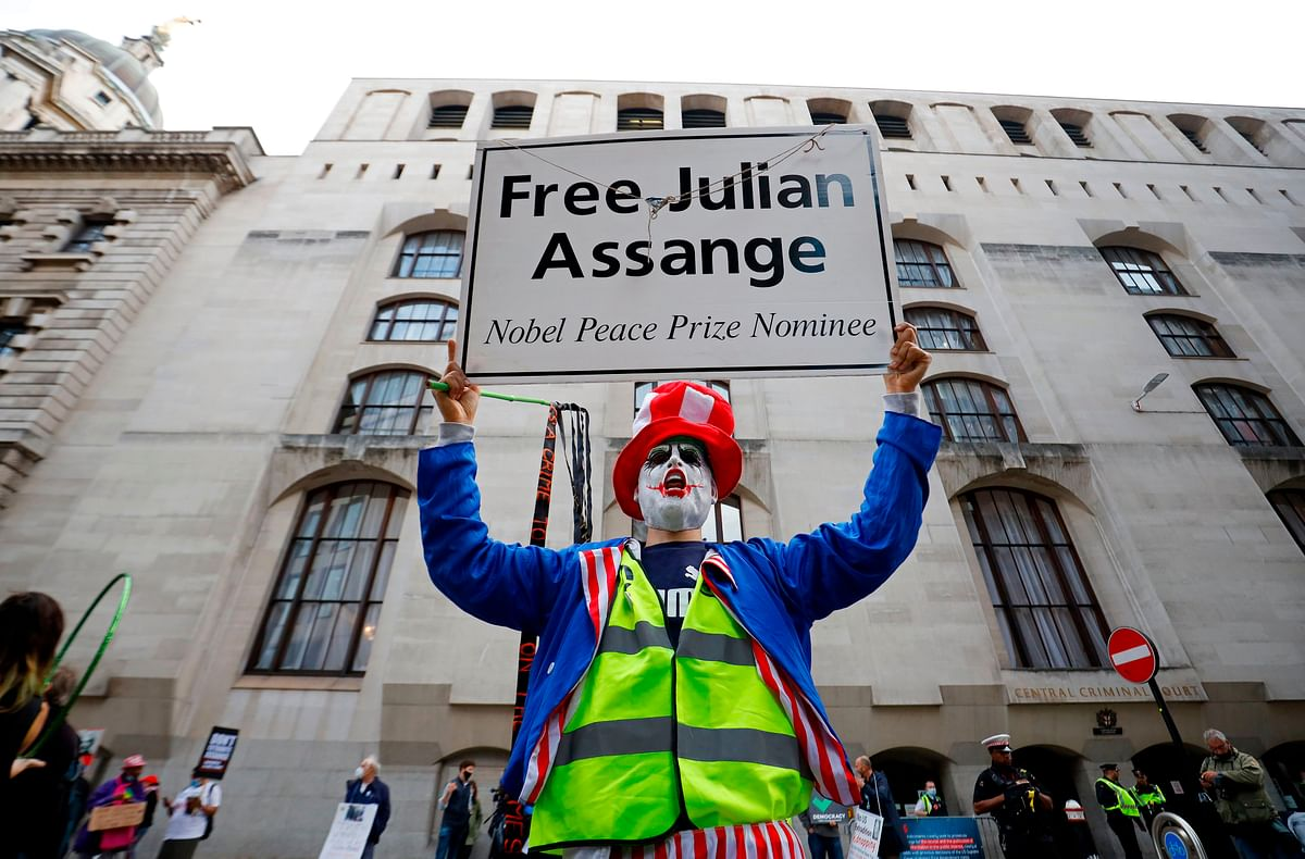 Assange fights for freedom in UK court