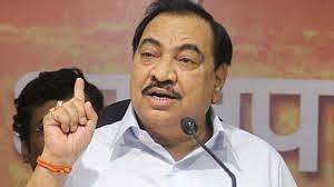 Former Maharashtra minister Khadse drops a bombshell