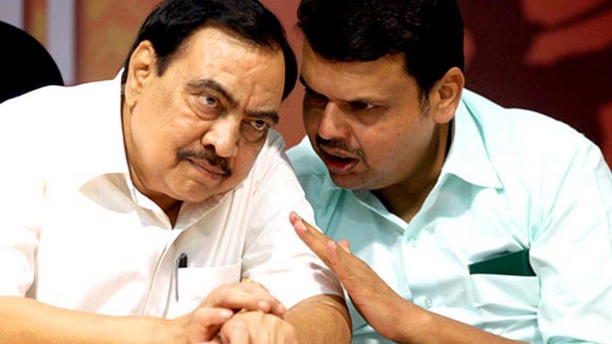 'Suffered a lot in BJP': Eknath Khadse blames Devendra Fadnavis for dumping saffron party to join NCP