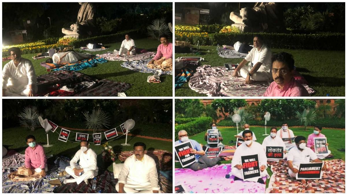 FPJ Fast Facts: Why did 8 Opposition MPs sleep outside Parliament?