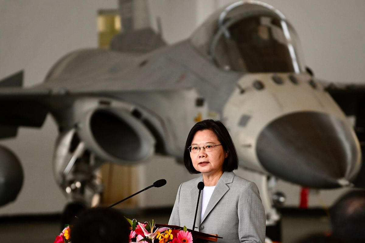 Taiwan: China's military flew planes for 3 straight days