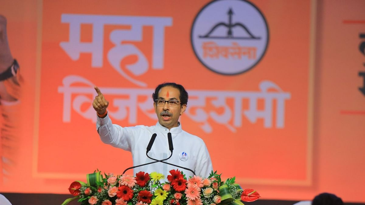 Maharashtra chief minister and Shiv Sena supremo Uddhav Thackeray