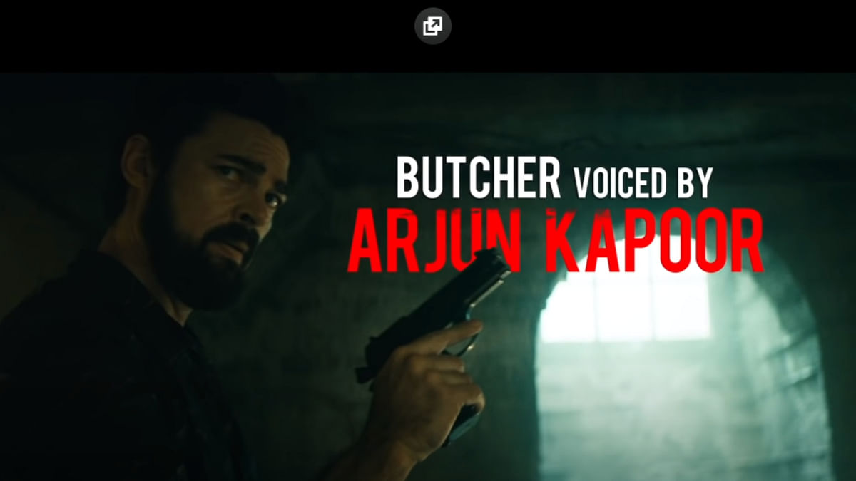 Amazon Prime's The Boys: Arjun Kapoor is the voice of Billy Butcher in Hindi and BOY people are angry