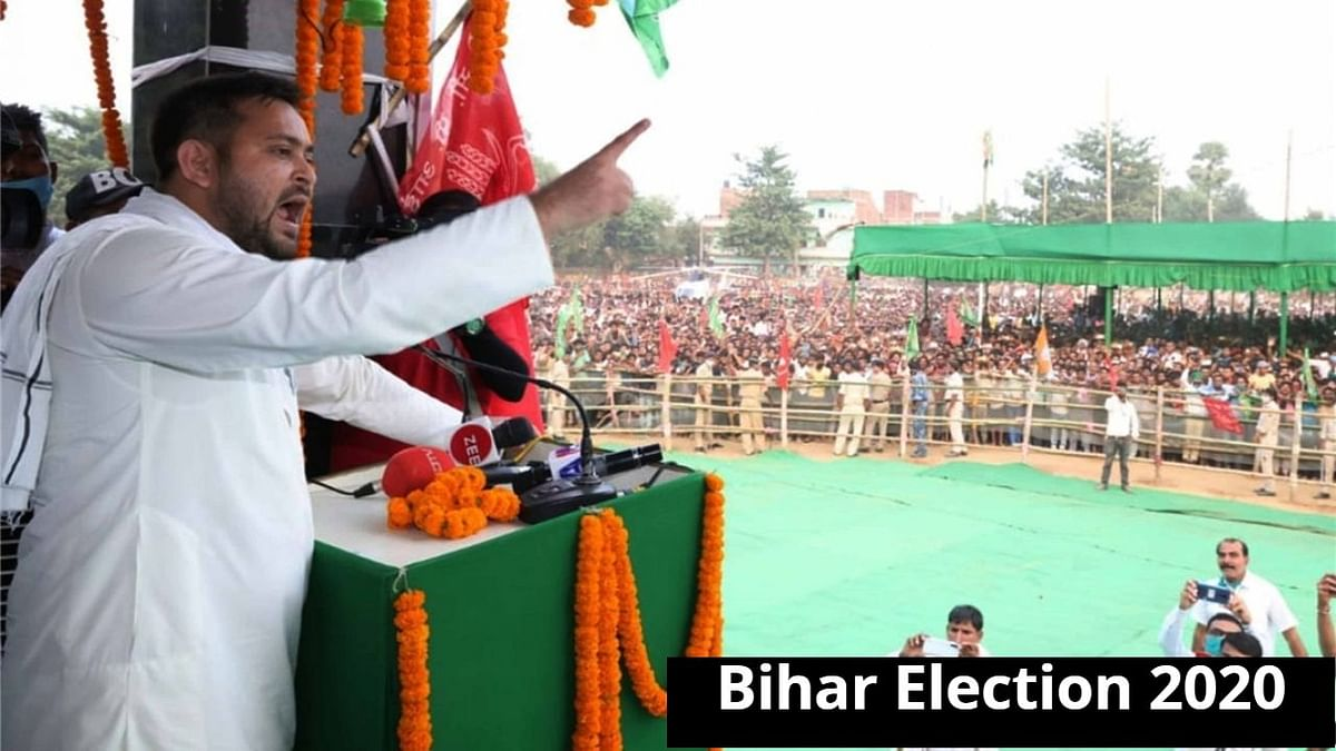Tejashwi Yadav's aggressive challenge opens up Bihar's poll fight