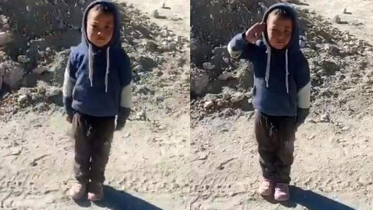 Ladakh: Kid salutes ITBP personnel, parents get Rs 2.5 lakh from BJP MP after video goes viral