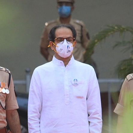 Maharashtra CM Uddhav Thackeray pays tributes to cops who died in line of duty