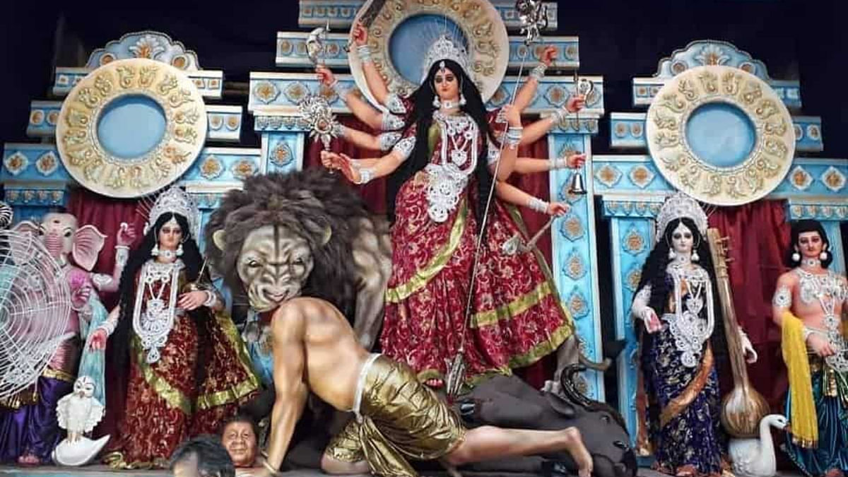 Maa Durga slays China's Xi Jinping in Berhampore; netizens dazed by artist's unique spin on mythos