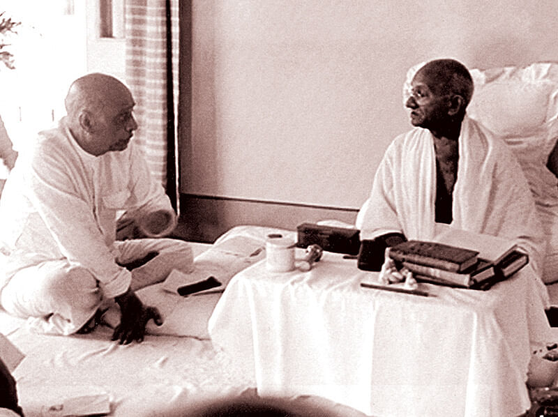 In a discussion with Sardar Patel on January 30, 1948