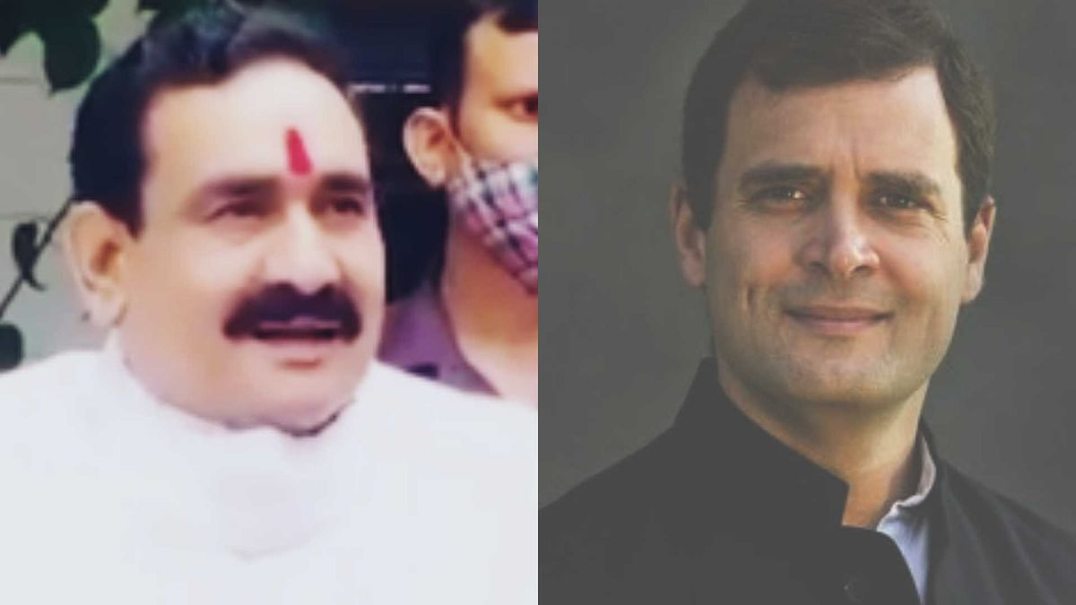 'Itni achi quality ka nasha...?': BJP's Narottam Mishra takes jibe at Rahul Gandhi's will throw out China in 15 mins remark