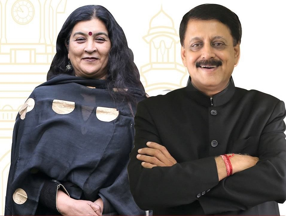 Dr Divya Gupta and Sandeep Parekh