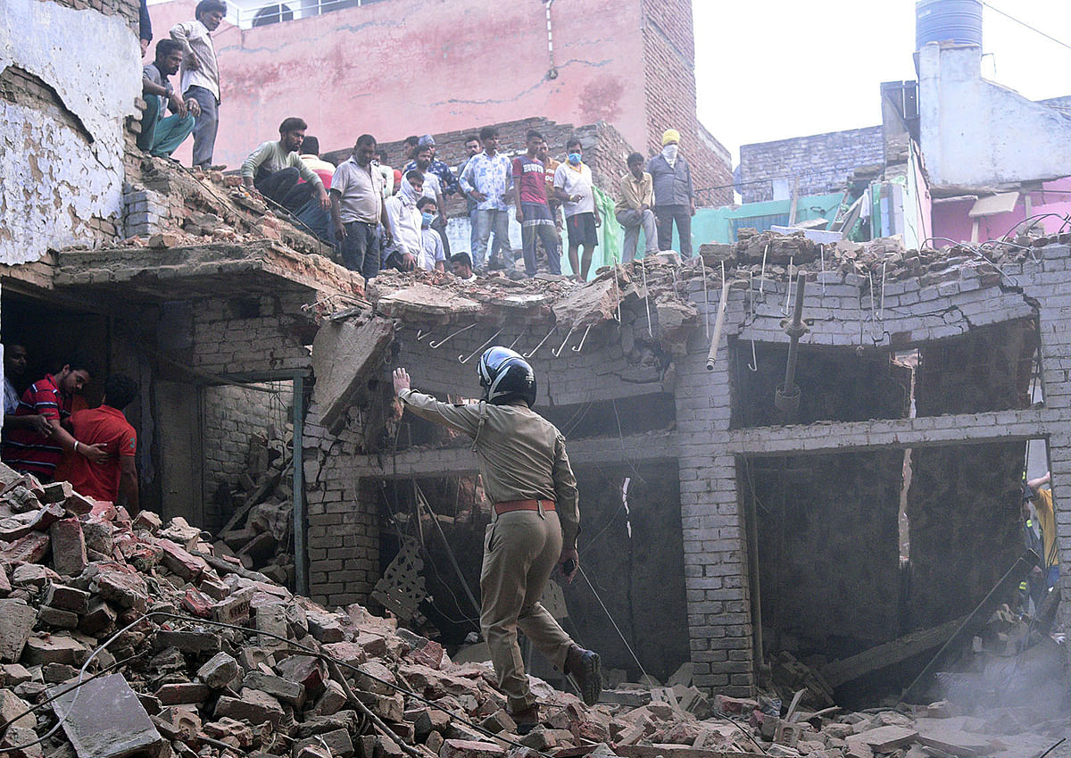 Uttar Pradesh: Death toll in explosion at Aligarh's Delhi Gate rises to four, 12 injured