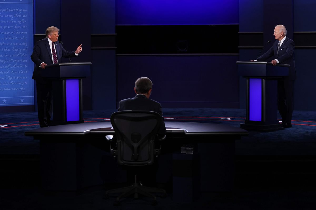 US ELECTIONS 2020: Hello, can you hear me? Muted mics in final debate
