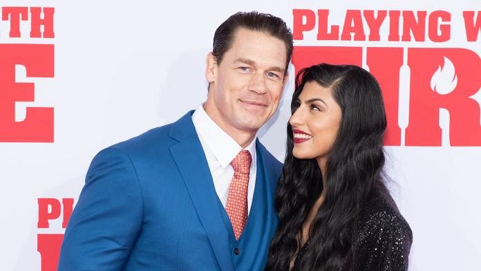 We can see them: John Cena marries girlfriend Shay Shariatzadeh in an intimate ceremony in Florida