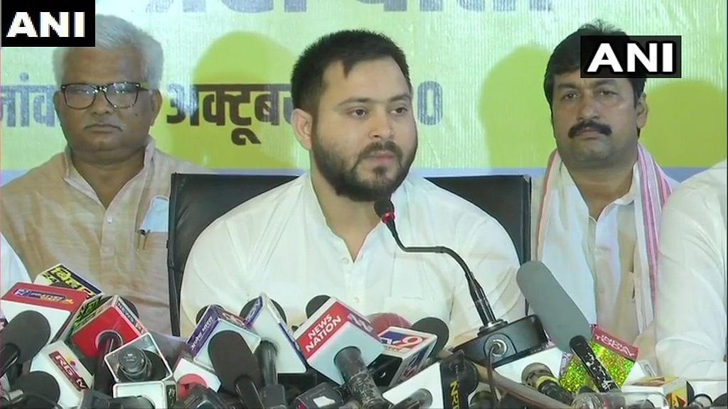 Bihar Polls 2020: Grand Alliance announces seat-sharing deal, RJD's Tejashwi Yadav CM candidate
