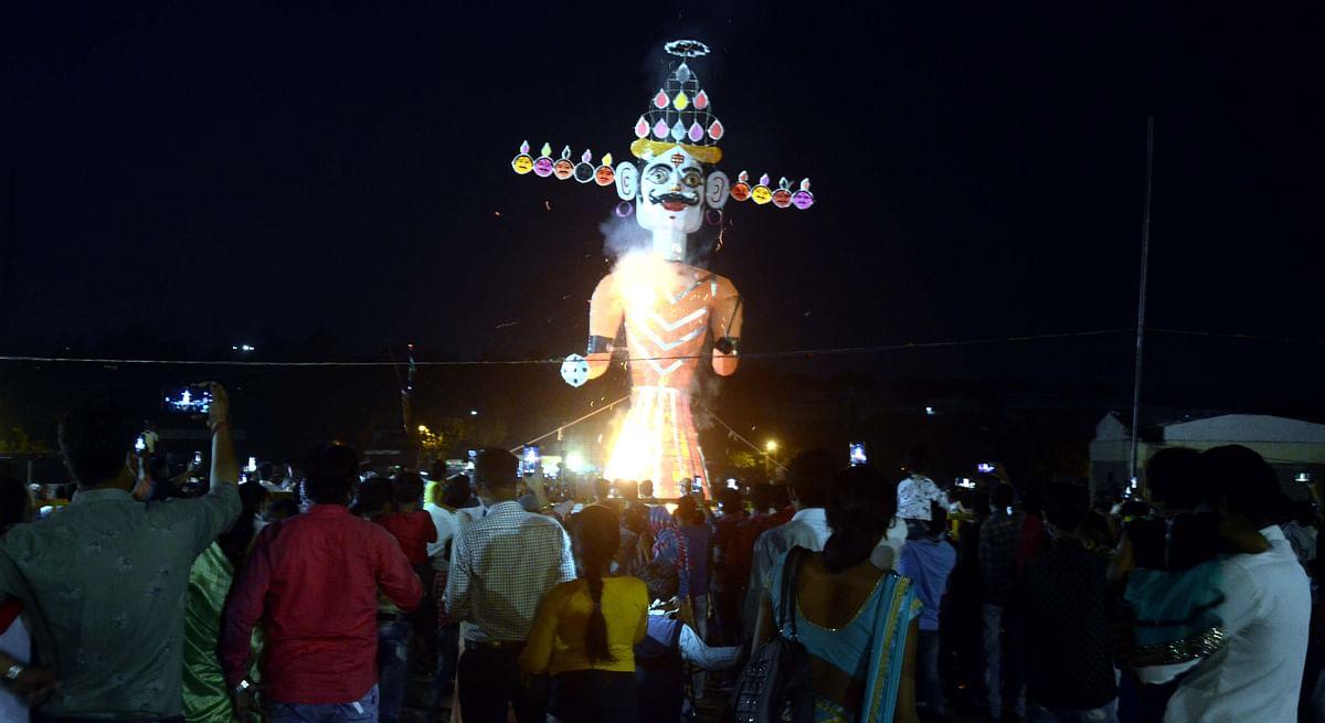 Bhopal: Coronavirus casts a shadow over Dussehra festivities