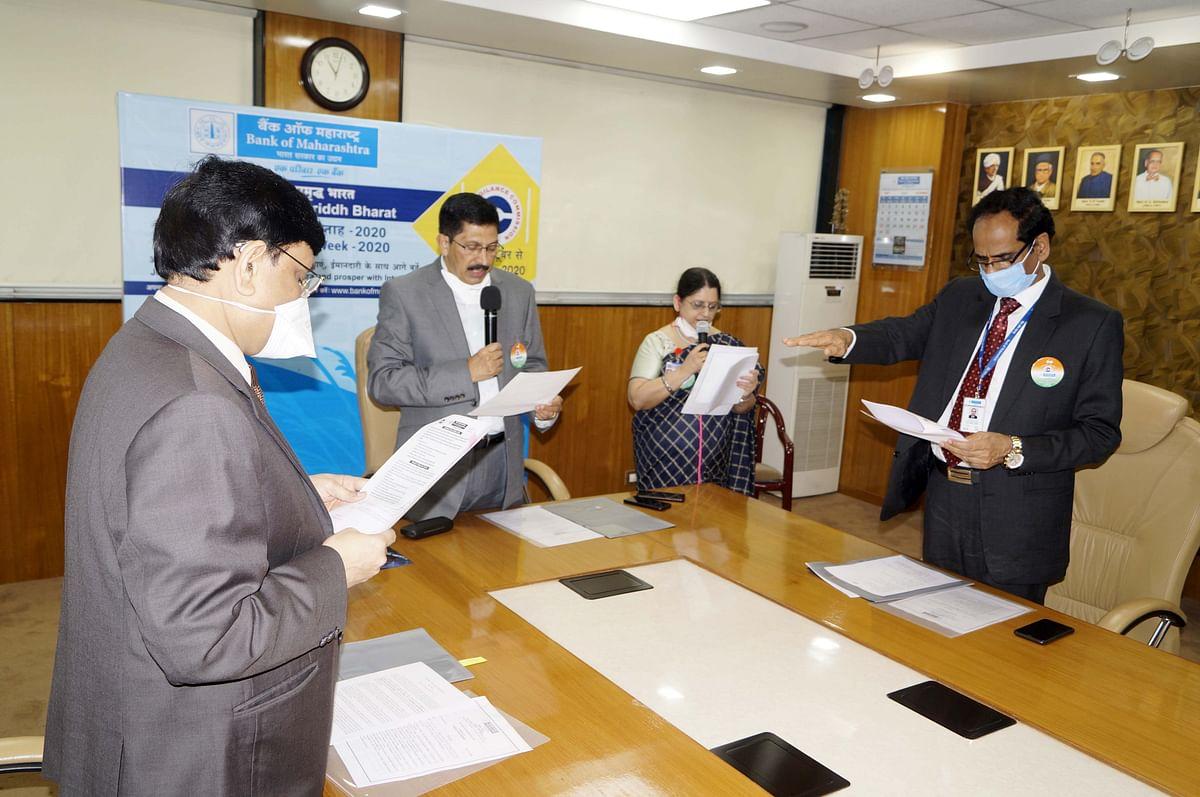 Bank of Maharashtra observes Vigilance Awareness Week