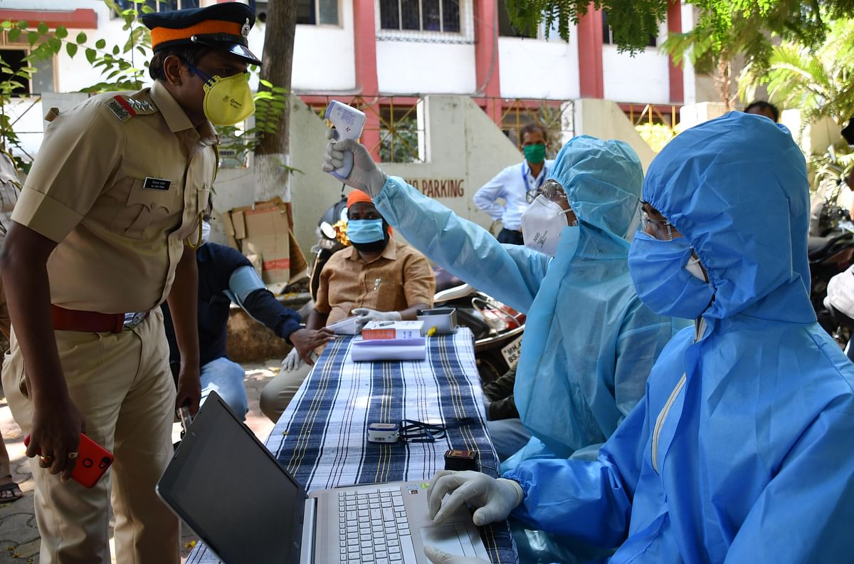 COVID-19 in Maharashtra: Cases rise among cops in September