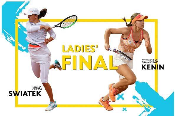 Australian Open champion Sofia Kenin squares off against Iga Swiatek,
