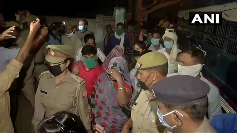 Hathras victim's family leave for Lucknow, to appear in court today