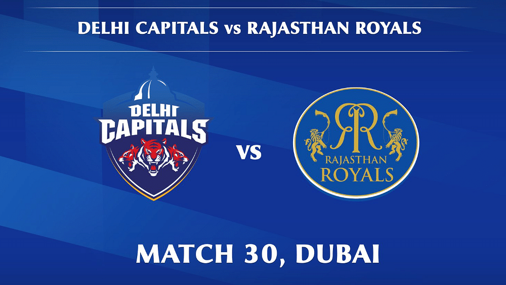 Delhi Capitals vs Rajasthan Royals LIVE: Score, commentary for the 30th match of Dream11 IPL