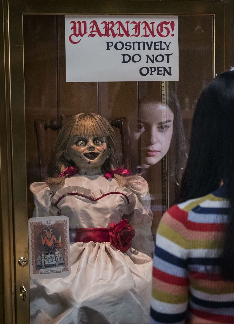 A still from Annabelle Comes Home