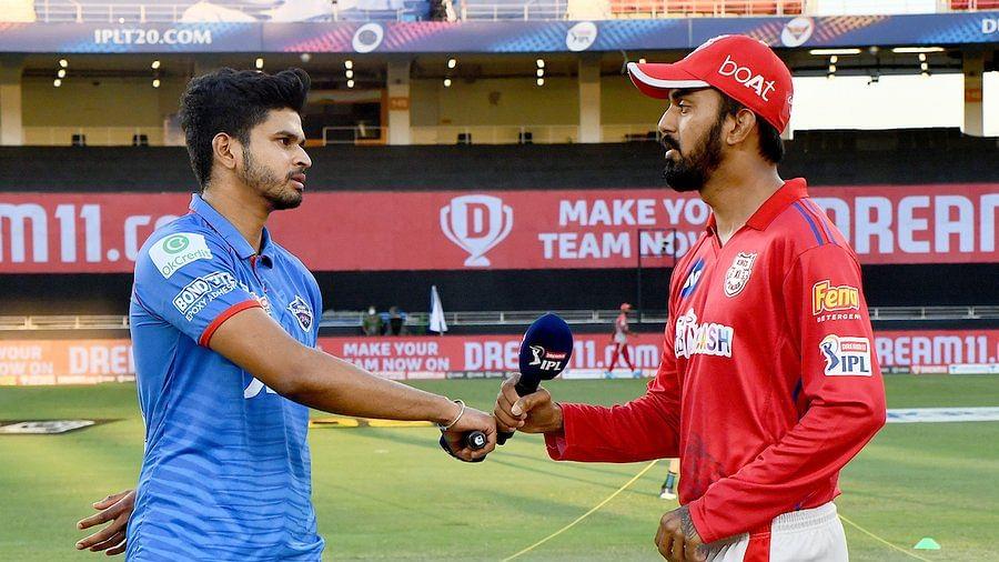 Shreyas Iyer (L) and KL Rahul (R)